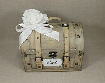 Vintage Wedding Card Box For Shabby Chic