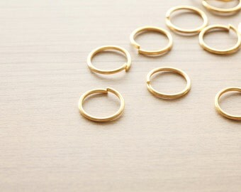 30 pcs of Golden Plated Iron Jump Ring - 20 mm