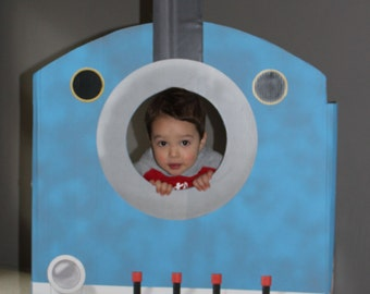 Train Engine photo booth (printable)