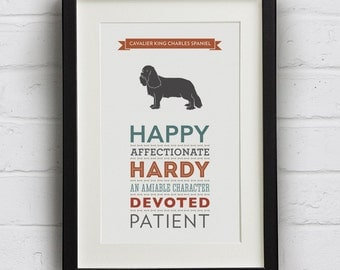 "Shop ""cavalier king charles spaniel"" in Prints"