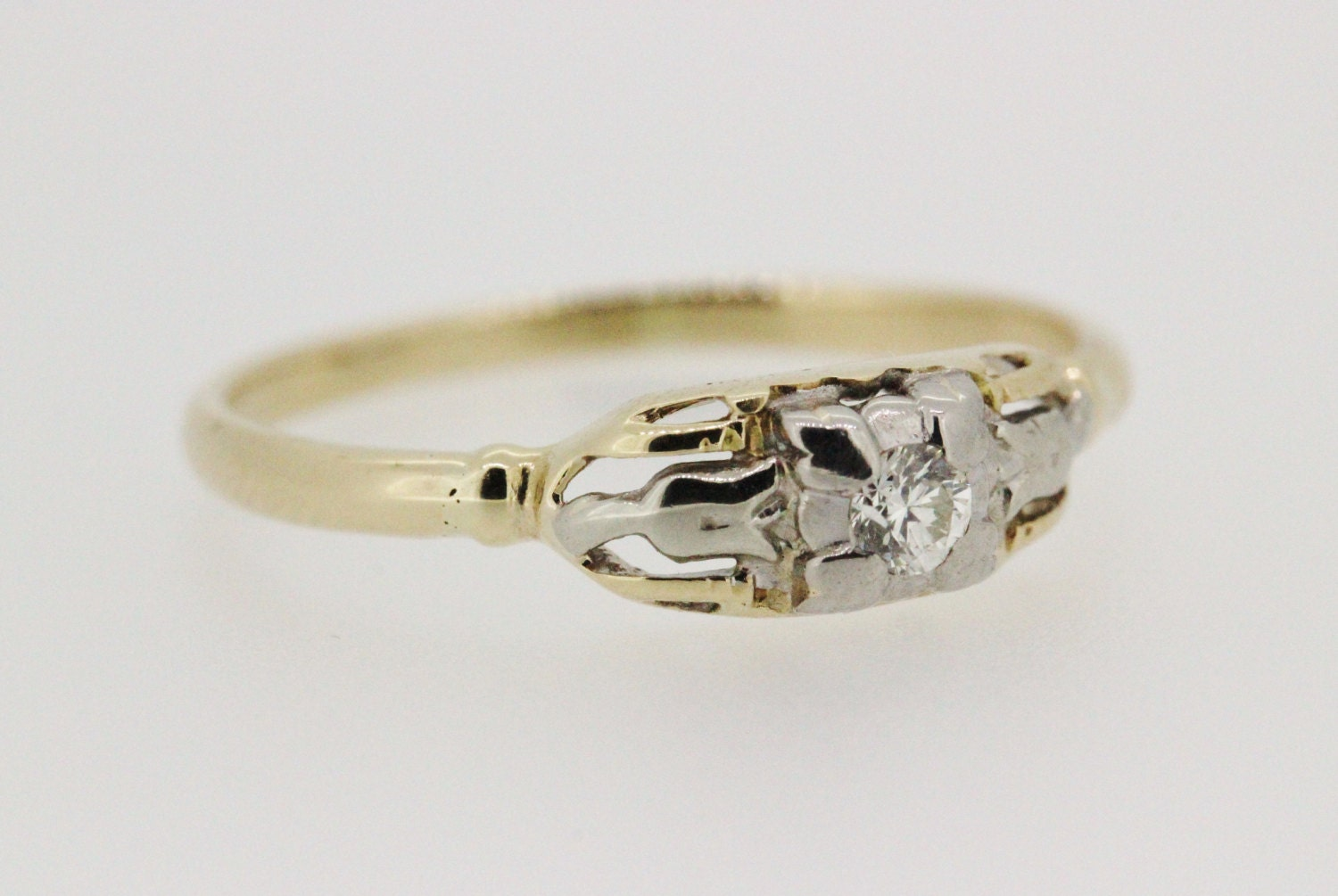 sale vintage engagement ring promise ring by