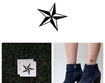Naval Star - Temporary Tattoo (Set of 2)