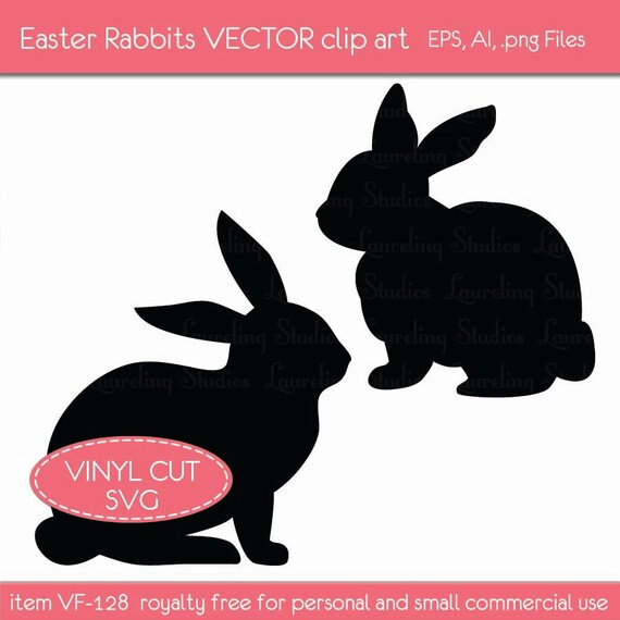 clipart image easter bunny silhouette - photo #39
