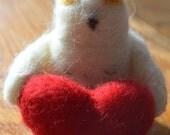 Items Similar To Snowy Owl Valentine On Etsy