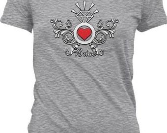 BRIDE / Bridal shirt - Rehearsal / Wedding / Bachelorette Party Tshirt GH_00555