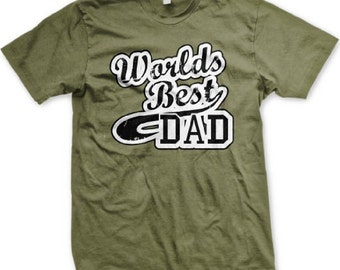 WORLD'S BEST DAD! Happy Father's Day T-Shirt - GH_00216_tee