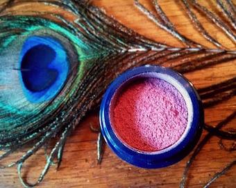 APHRODITE // 100% All Natural Organic Hibiscus Blossom Blush // Fresh Botanical Flower Makeup // Soft Natural Pink Radiant Glow