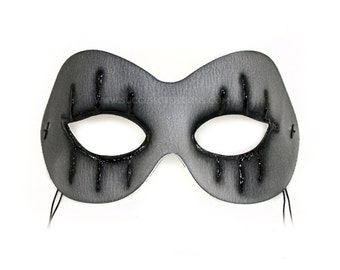 Bewitched Hand-Painted Scary Masquerade Mask - A-2309-E