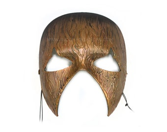 Inferno Hand-Painted Men's Scary Men's Masquerade Mask - A-2310-E