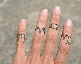 Zodiac Ring Midi Ring Horoscope Ring Virgo Leo Libra Cancer Taurus Aries Gemini Scorpio Sagittarius Capricorn Aquarius Pisces Ring