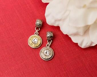 Bullet Jewelry - Simple 40 Bullet Pendant