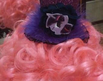 Twilight Sparkle inspired mini top hat