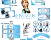 Disney Frozen Birthday Party Package Printable