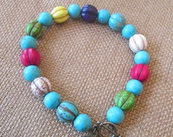 SALE 20% OFF- Turquoise Bracelet by The Darling Duck