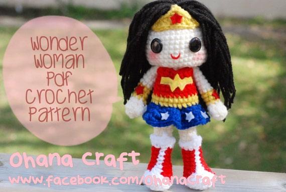Amigurumi Wonder Woman : Unavailable Listing on Etsy