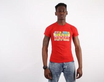 80s Pacman Glitter T-Shirt  - Pacman  - Glitter T Shirt -  1426