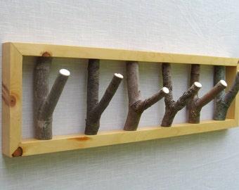 Tree Branch Hook Coat Rack, 28