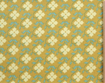 Joel Dewberry fabric Chestnut Hill Buttercup JD13 Lichen floral 100% Cotton Free Spirit Sewing Quilting Cotton Fabric by the yard