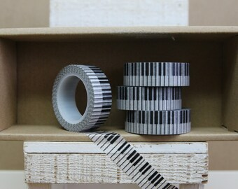Washi Tape - piano keyboard - P14
