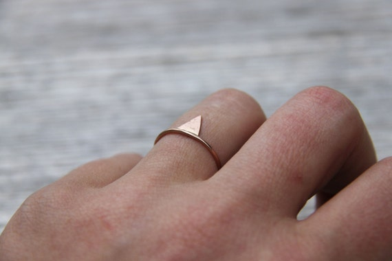 dünner ring rosegold