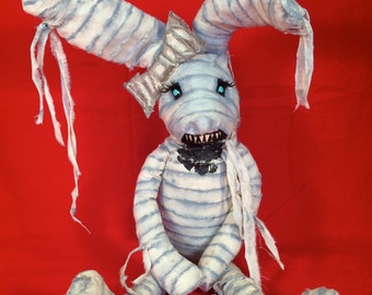Jessica Wrappit is a OOAK mummy baby art doll