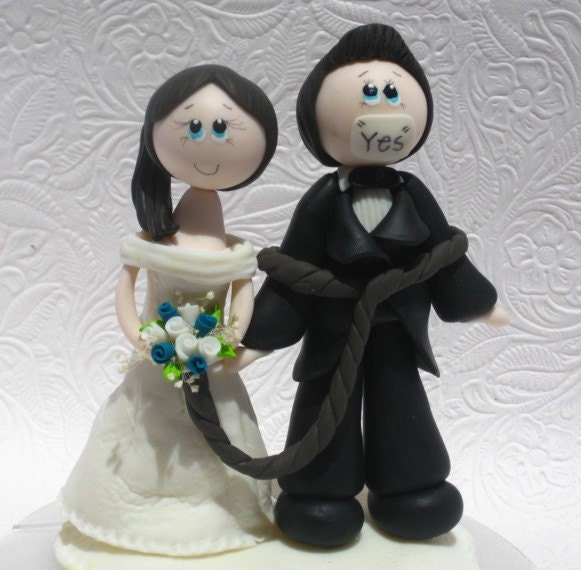 funny wedding cake figures wedding cake topper cake topper by 14568