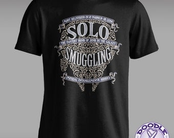 Solo Smuggling - Star Wars T-shirt