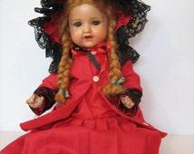 "Fantastic Armand Marseille, AM 966 2, 19"" Doll /"