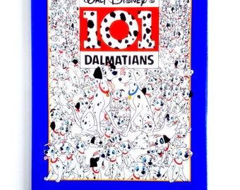 Vintage 101 Dalmatians Children's Book