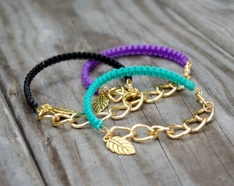 Helloberry Inspired Bracelet, Gold Chain Bangles, Helloberry Inspired Bangle, Armcandy Bracelets, Plastic Lace Bracelet