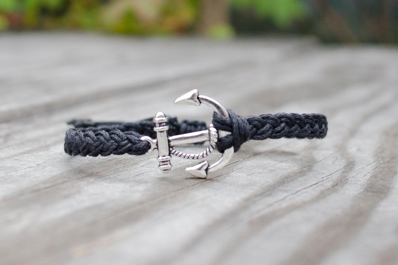 Bracelet ancre marine homme - Bracelet couple ancre ...