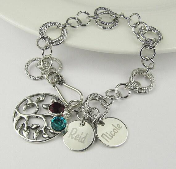 family tree of bracelet s by wearitpersonalized