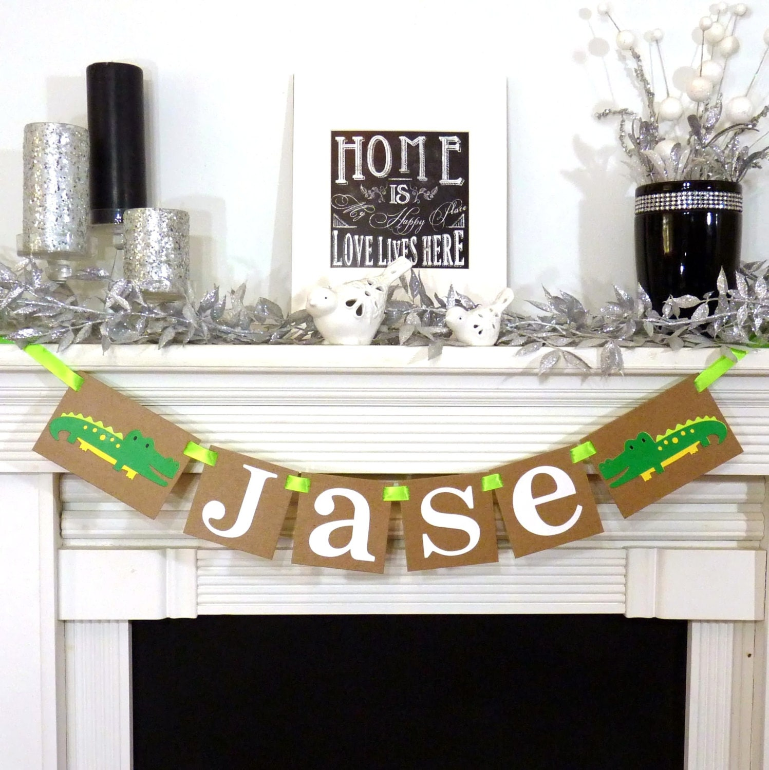 Banners For Bedrooms: Personalized Name Banner / Kids Room Decor / Childs Name