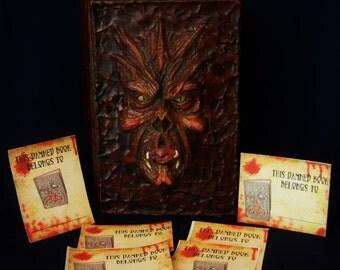 Evil Dead Necronomicon bookplates- (set of 6)