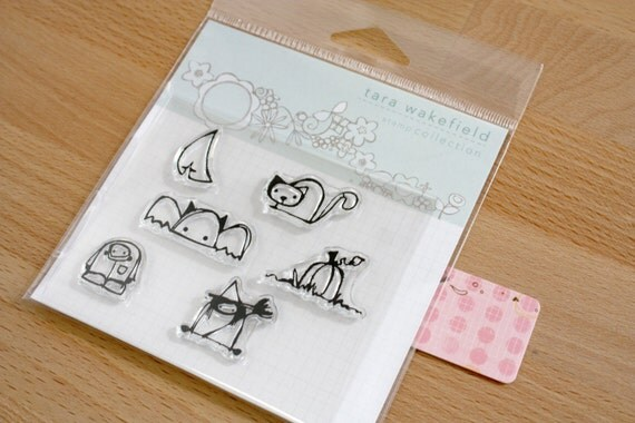 HALLOWeenies // adorable halloween stamps // clear stamps // paper crafting // crafting