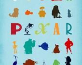 Pixar Characters Print