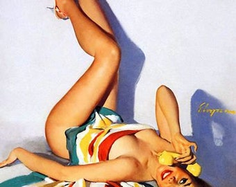 1950's Vintage Pin-Up Girl Poster 17