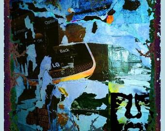 Urban Graffiti Abstract 2 - Giclee Print