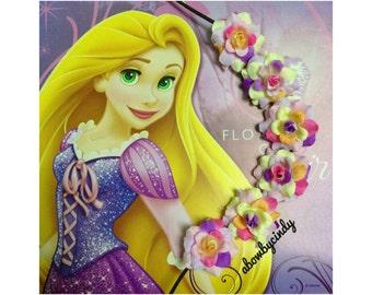 Rapunzel / Tangled / Disney / Flower Halo / Crown / Headband
