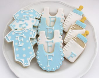 Baby Shower Cookies | Baby Shower Food | Baby Shower Ideas | Baby Shower  Favors |