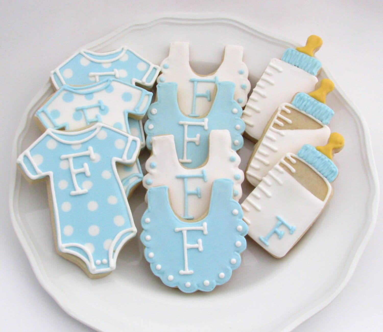 baby shower cookies one dozen