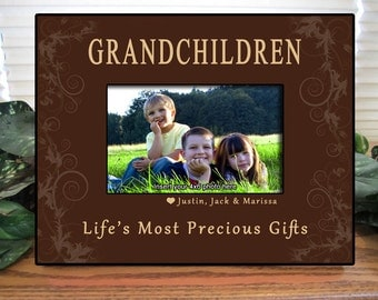 grandparents frame personalized grandparents frame personalized photo frame grandparents gift nana papa personalized picture frame