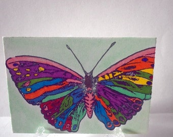 ACEO  Art Card- Butterfly