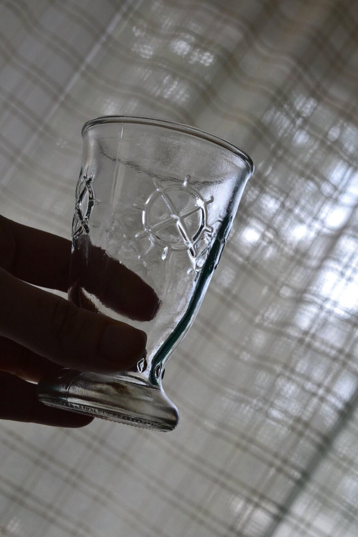 sau sea shrimp cocktail glasses lot of 5 jelly jar juice. Black Bedroom Furniture Sets. Home Design Ideas