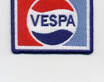 Vintage Style Vespa Embroidered Patch