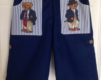 Convertible pants - baby, toddler, boy. Sizes 6 mos to 5 years
