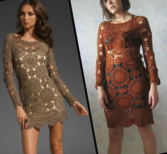 CROCHET FASHION TRENDS Eternal Sunshine Creations style  Wildflower Crochet Dress
