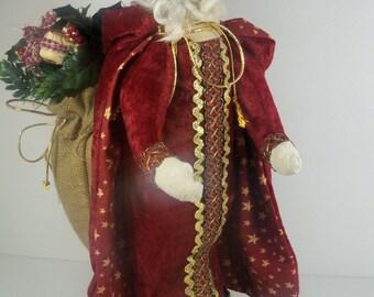 Primitive Santa