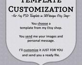 Template Customization - SRFdesigns