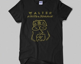 The Big Lebowski - Walter Sobchak 'Imagine' Movie T-shirt. The Dude Abides.